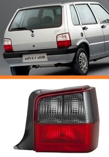 Lanterna Traseira Fiat Uno 04 2005 06 07 08 09 Fume Direito  - Kaçula Auto Peças
