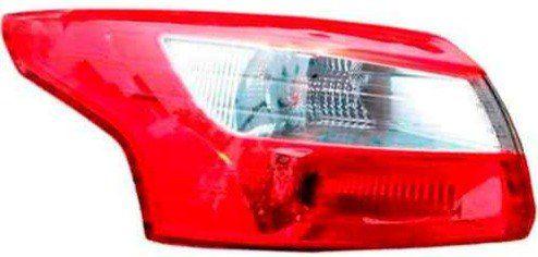 Lanterna Traseira Focus Sedan 2013 2014 2015 Esquerdo Novo  - Kaçula Auto Peças