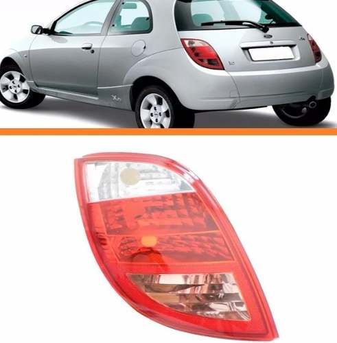 Lanterna Traseira Ford Ka 2007 06 05 04 03 01 Esquerda  - Kaçula Auto Peças