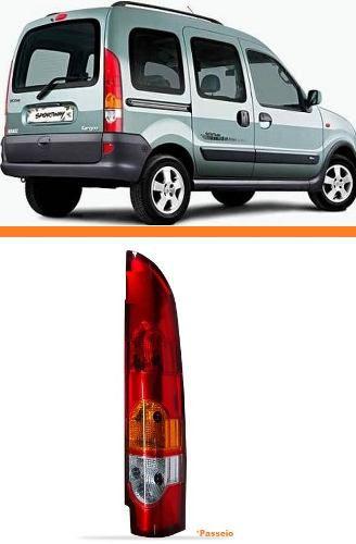 Lanterna Traseira Kangoo 2010 2011 2012 2013 Passeio Direita  - Kaçula Auto Peças