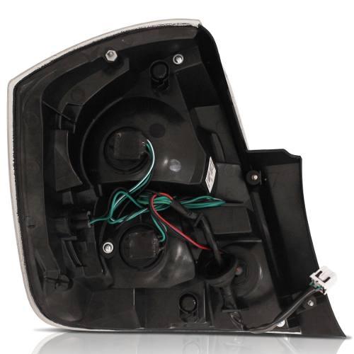 Lanterna Traseira Nissan Sentra Fumê 2012 2013 Direito  - Kaçula Auto Peças
