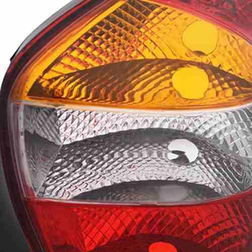 Lanterna Traseira Palio G2 2001 2002 2003 Tricolor Esquerdo  - Kaçula Auto Peças