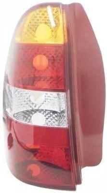 Lanterna Traseira Palio Weekend 2001 2002 2003 Esquerdo Verm  - Kaçula Auto Peças