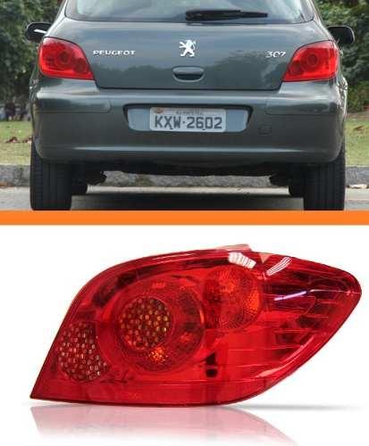 Lanterna Traseira Peugeot 307 Hatch 11 10 09 08 2007 Direito  - Kaçula Auto Peças