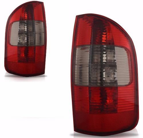 Lanterna Traseira S10 02 03 04 05 06 07 08 09 Fumê Esquerda  - Kaçula Auto Peças