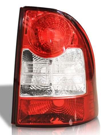 Lanterna Traseira Strada 2009 2010 2011 2012 Canto Esquerdo  - Kaçula Auto Peças