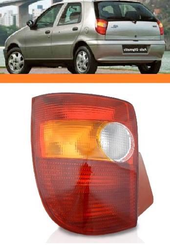 Lanterna Traseira Tricolor Palio 1996 2000 Novo Direito  - Kaçula Auto Peças