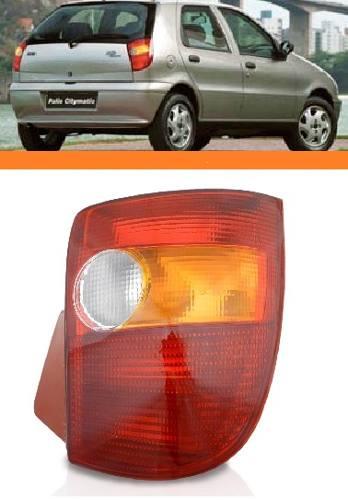 Lanterna Traseira Tricolor Palio 1996 2000 Novo Esquerdo  - Kaçula Auto Peças
