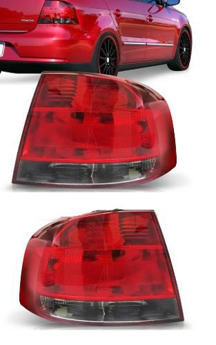 Lanterna Traseira Voyage G5 Fumê 09 10 11 Par  - Kaçula Auto Peças