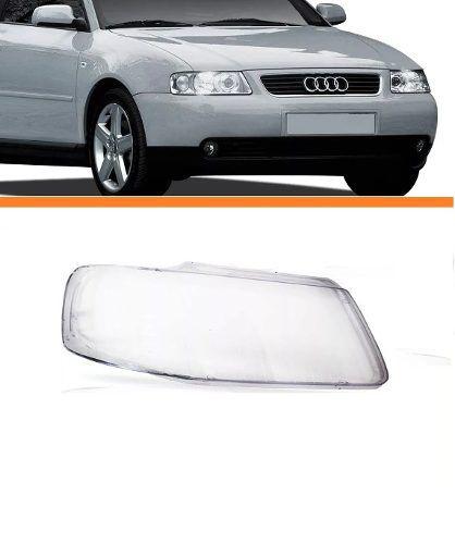 Lente Do Farol Audi A3 2001 2002 2003 2004 2005 2006 Ld  - Kaçula Auto Peças