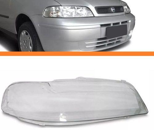Lente Do Farol Palio 2001 2002 2003 2004 Direito  - Kaçula Auto Peças