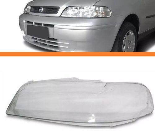 Lente Do Farol Palio 2001 2002 2003 2004 Esquerdo  - Kaçula Auto Peças
