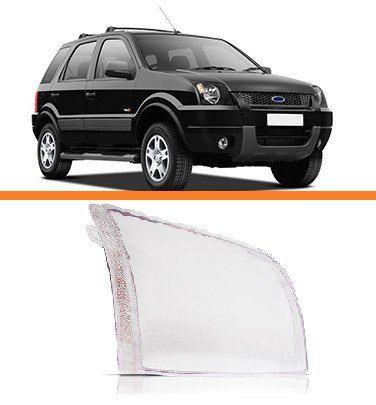 Lente Farol Ecosport 2003 2004 2005 2006 2007 Direito  - Kaçula Auto Peças