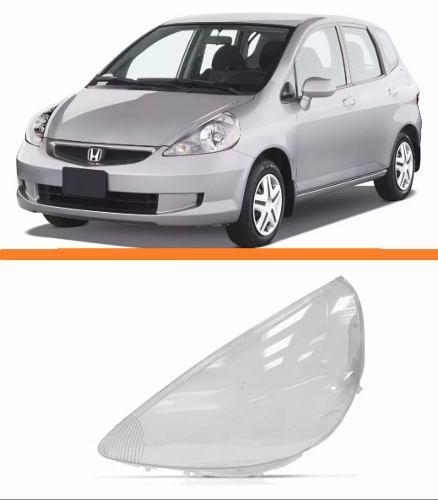 Lente Farol Fit 2004 2005 2006 2007 2008 Esquerdo  - Kaçula Auto Peças