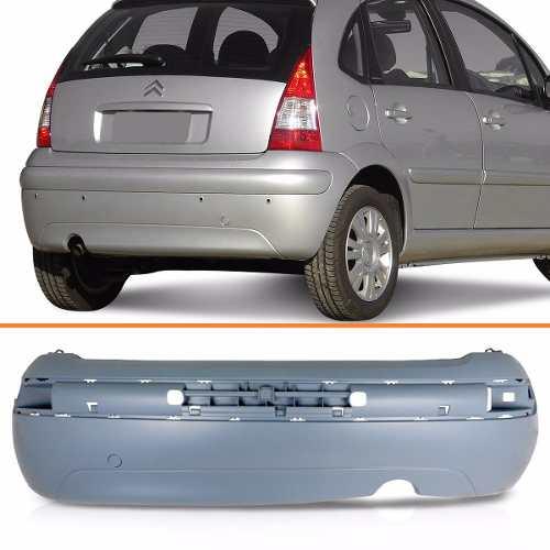 Parachoque Traseiro C3 2008 2009 2010 2011 2012  - Kaçula Auto Peças
