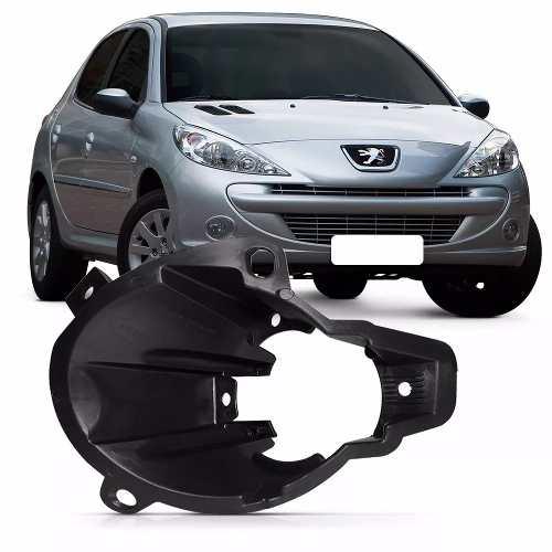 Suporte Farol Milha Peugeot 207 09 10 11 12 13 Direito  - Kaçula Auto Peças