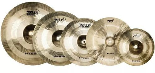 Kit De Pratos Zeus Hybrid Set E 10 14 16 18 20 + Bag