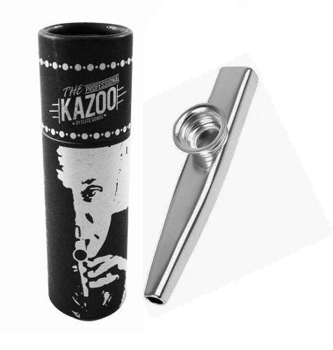 Kazoo Turbo Metálico Prata AG