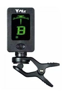 Afinador de Clip Cromático Instrumentos Corda Phx Ft18