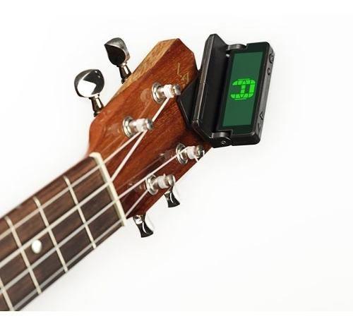 Afinador Piezo Headstock para Guitarra Baixo Violão Daddario Pwct10