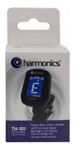 Afinador De Clip Cromático Harmonics Th101