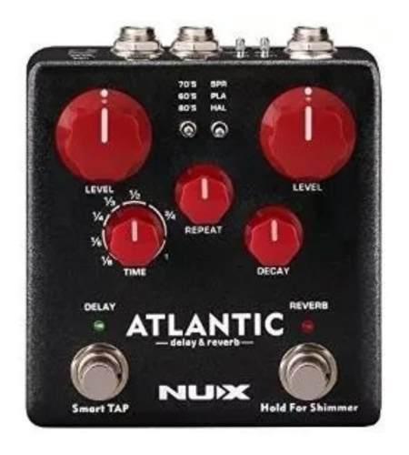 Pedal Atlantic Delay, Reverb E Shimmer Ndr5 Nfa3851- Nux