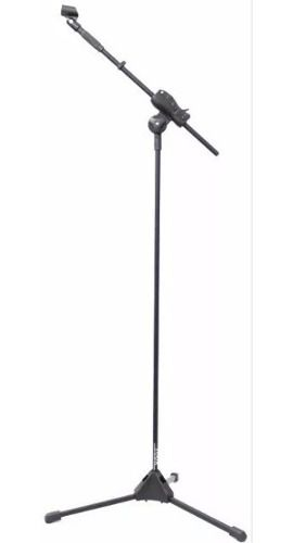 Pedestal Suporte Microfone Ibox Ajuste Sm Light
