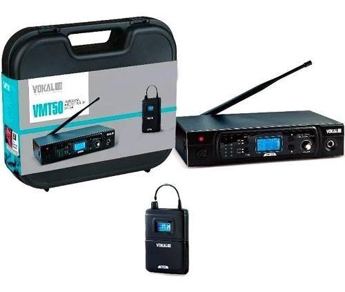 Sistema Monitor Retorno Sem Fio Vmt50 Vokal