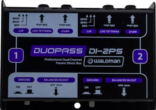 Direct Box Waldman Passivo Duplo Di-2ps