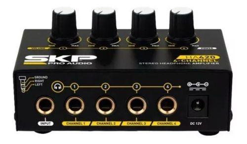 Amplificador Fone Skp Ha 420 4 Canais