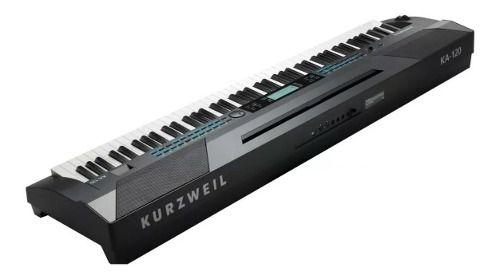 Piano Digital Kurzweil Stage Arranjador Com 88 Teclas Ka120