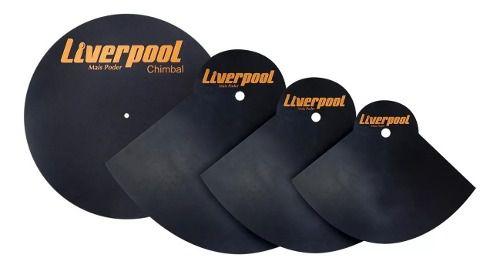 Abafador De Pratos 14, 16, 20 E Chimbal Liverpool Abf Pr
