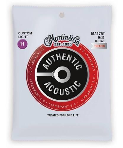 Encordoamento Martin Ma175 P/ Violão Aço Alta Durabilidade