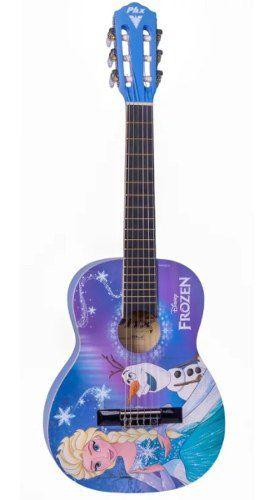Violão Infantil Disney Frozen Elsa E Olaf Vif-1 Phx