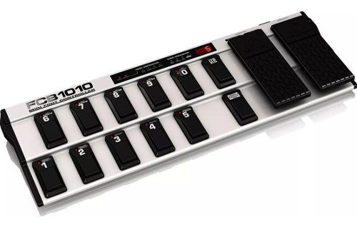 Pedaleira Controle Midi Foot Controller Fcb1010 - Behringer
