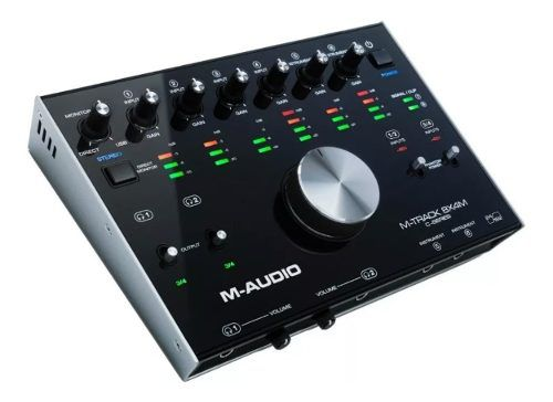 Interface De Audio M Audio Mtrack 8x4 4 Canais Usb