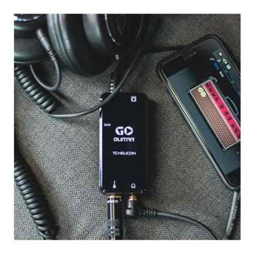 Interface De Audio Go Guitar Tc Helicon Captação De Audio