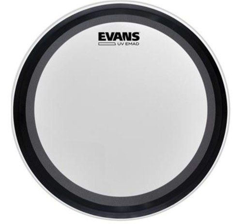Pele Bumbo Evans 22 Uv Emad Coated Bass Drum Head