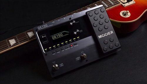 Pedaleira Multiefeitos Mooer Para Guitarra Ge150