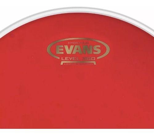 Pele Evans Para Caixa E Tom 10 Hidráulica Red TT10HR