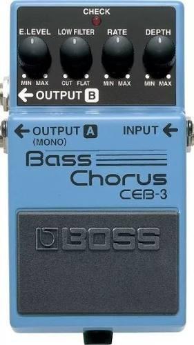 Pedal Boss Chorus Ceb-3 Para Contrabaixo