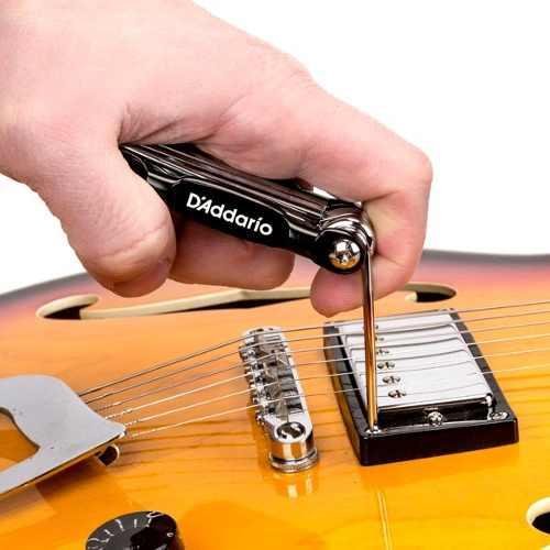 Ferramenta Multiuso Chaves Guitar Bass Daddario Pw-gbmt-01