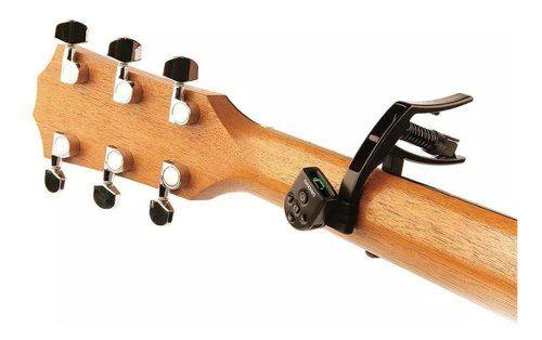 Capo Afinador Daddario Guitarra Violão Artist Pw-cp-10nsm