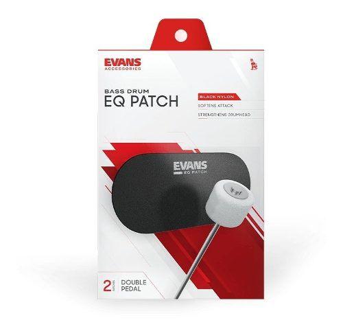 2 Protetores Eq Patch De Bumbo Evans Eqpb2 Para Pedal Duplo