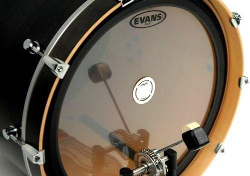 Kit 2 Pad Protetor Bumbo Evans Eqpaf1 Fibra P/ Pedal Single