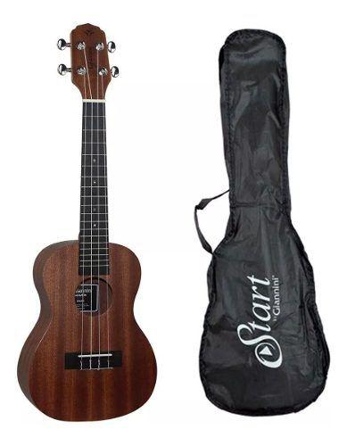 Ukulele Concert Giannini Guk-23 Sapele Ws c/ Bag