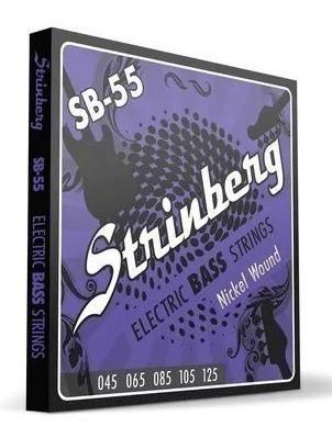 Encordoamento Strinberg Sb55 P/ Contra Baixo 5 Cordas 045