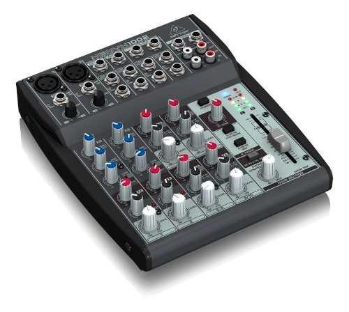 Mesa De Som Mixer Xenyx 1002 10 Canais - Behringer