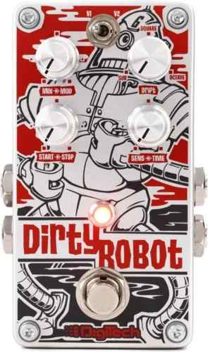 Pedal Digitech Dirty Robot Stéreo Mini-synth