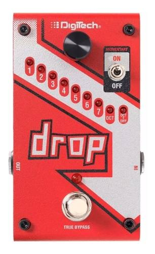 Pedal Digitech The Drop Polyphonic Tune Pitch Shifter